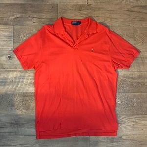 👕 Polo by Ralph Lauren Red/Orange Polo